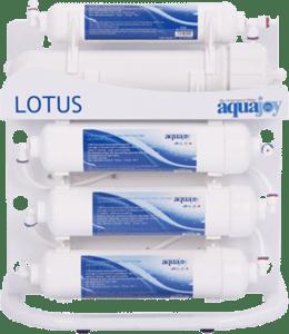 دستگاه تصفیه آب خانگی آکواجوی مدل لوتوس