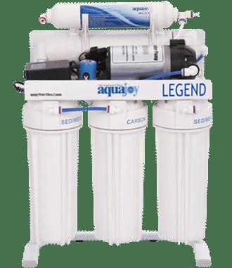 دستگاه تصفیه آب آکواجوی مدل لجند