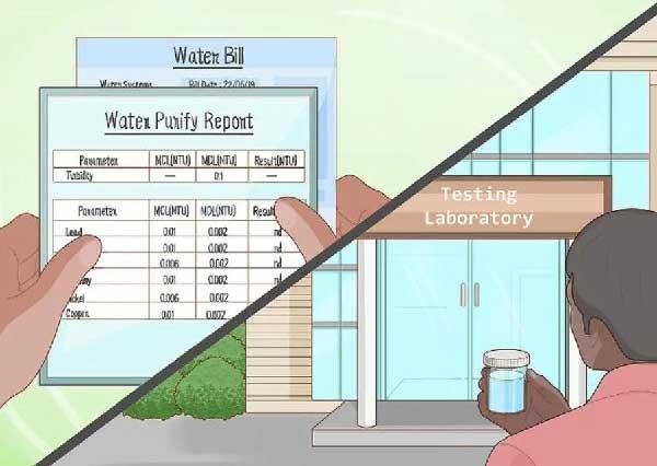 آزمایش آب آشامیدنی | آکواجوی